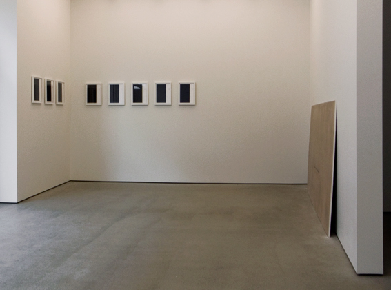 Installation view, Hol sept 2007